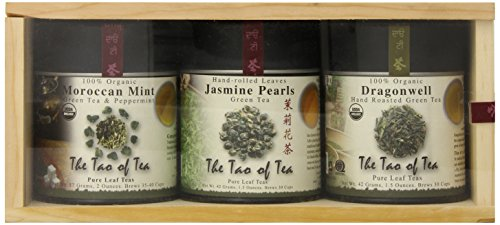 - The Tao of Tea Green Tea Sampler, 3-Count Can