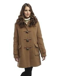 Womens London Duffle Coat Camel