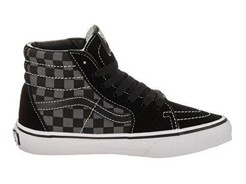 Pewter Vans Zapatillas Sk8 hi Niñas Altas Black checkerboard K PW00nxSf