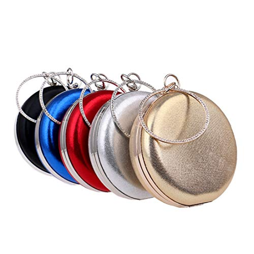 Handbags States Wild Handbags Foreign Banquet The Round Spherical evening Europe Trade Candy New Women's And Color Bag United bag Shoulder Blue Red Fly wPI6zW4qW