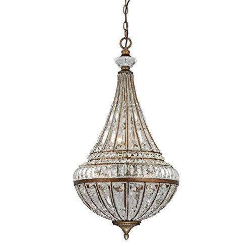- Elk Lighting 46047/6 Empire Collection 6 Light Pendant in Mocha -