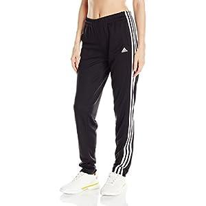 adidas Women's T10 Pants, Black/White, Large