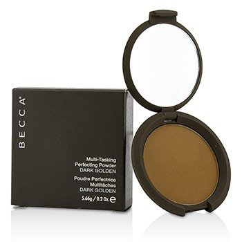 Becca Multi Tasking Perfecting Powder DARK GOLDE 0.2 oz