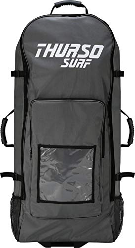 THURSO SURF Inflatable Paddle Board Carrying Bag SUP Roller Backpack Fits Any iSUP Up to 12