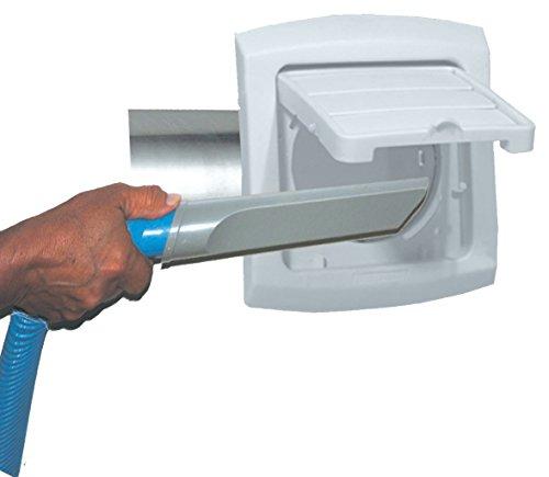 Dundas Jafine BHLH4WZW EzAccess Exhaust Hood, 4-Inch (Dundas Jafine Dryer Vent Hood)