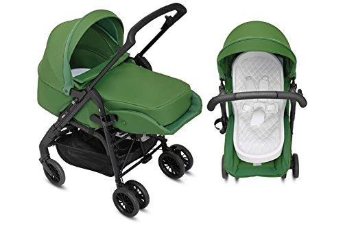 Inglesina Zippy Light–Kinderwagen-Set für Neugeborene, Farbe grün Farbe grün B2_0676698