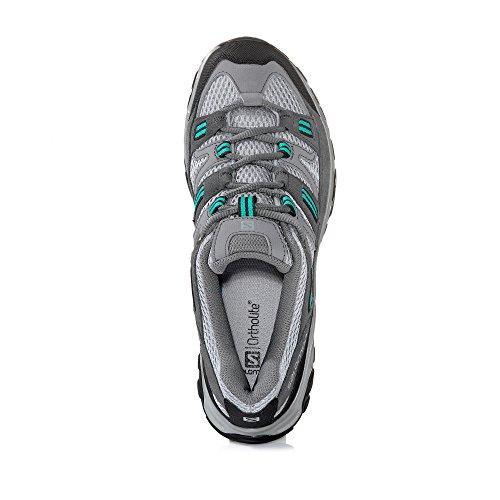 gris Sherbrooke senderismo 1 5uk 3EU 37 color Salomon de Zapatillas mujer talla para 4 q6x64Ba0