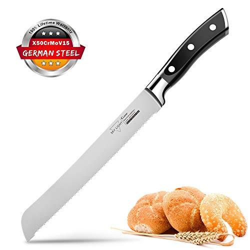 Paring Knife, Utility Knife, Bread Knife & Kitchen Knife Set (Chef Knife, Utility Knife & Paring Knife)