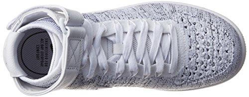 Flyknit W Sportive Bianco Scarpe Donna grigio Af1 Nike cH8R66