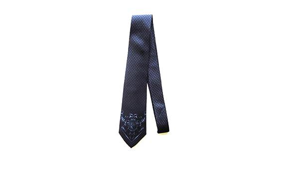 Versace - Corbata - para hombre Verde VERDE KAKI Medium: Amazon.es ...