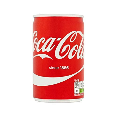 Coca-Cola Mini Can 150ml (Pack of 6) by Coca-Cola