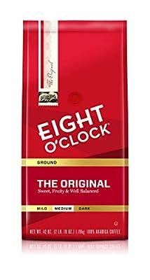 Eight O'Clock Coffee Ground Coffee, Donut Shop, 11 Oz by Eight O'Clock Coffee