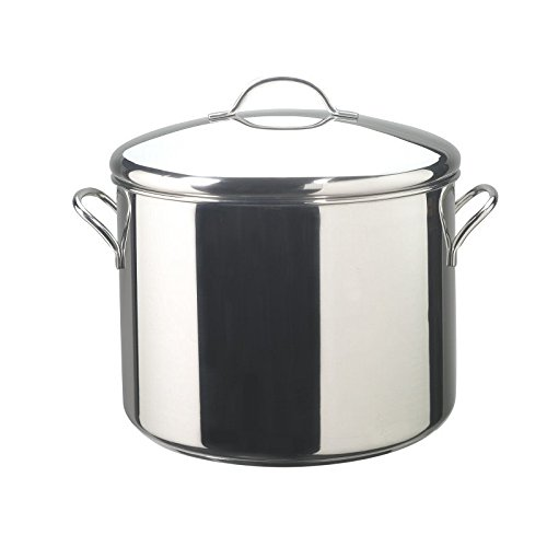 Pemberly Row Stainless Steel 16qt Stockpot