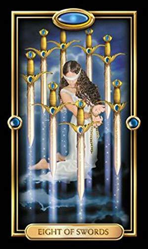 Anya Nana Gilded Tarot Deck Cards New in Box Standard Edition w/ Booklet Horoscopes by Anya Nana (Image #5)