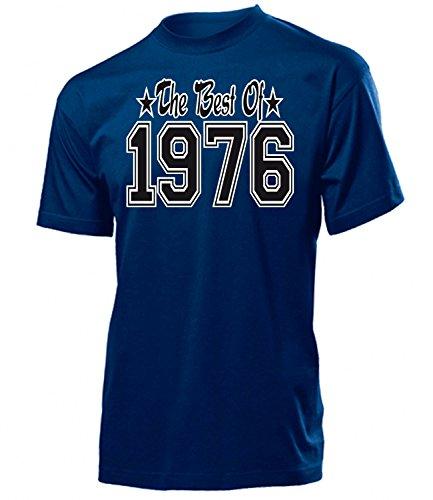 THE BEST OF 1976 - DELUXE - Birthday hombre Unisex camiseta Tamaño S to XXL varios colores Marina