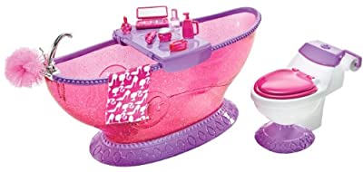 Barbie Bath To Beauty Bathroom Set by Mattel