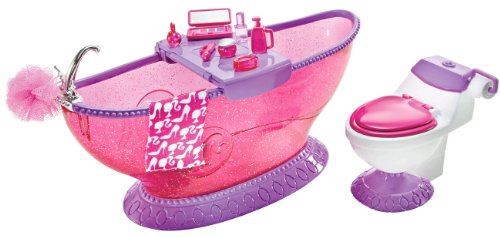 Barbie Bath To Beauty Bathroom - Dollhouse Bathroom Vanity