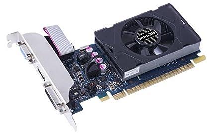 Inno3D GeForce GT 730 2GB GDDR5 - Tarjeta gráfica (GeForce GT 730, 2 GB, GDDR5, 64 bit, 2560 x 1600 Pixeles, PCI Express 2.0)