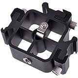 """Support Phot-R TriFlash Aluminium Multi-Fonctionnel avec 3 Flash Froid Montures de Chaussures et Porte-Parapluie avec ¼ et 3/8"""""""