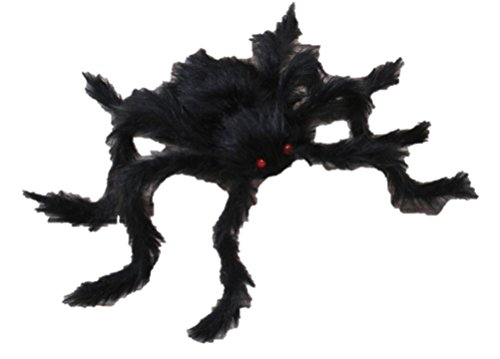 Veil Entertainment Scary Hairy Posable Halloween Spider 50