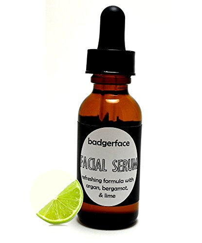 Oily Skin Control Facial Oil Serum. Argan Oil for Face with Bergamot, Geranium and Lime 1 oz. Natural Face Moisturizer to Balance and Tone - Best Colors My Skin For Tone