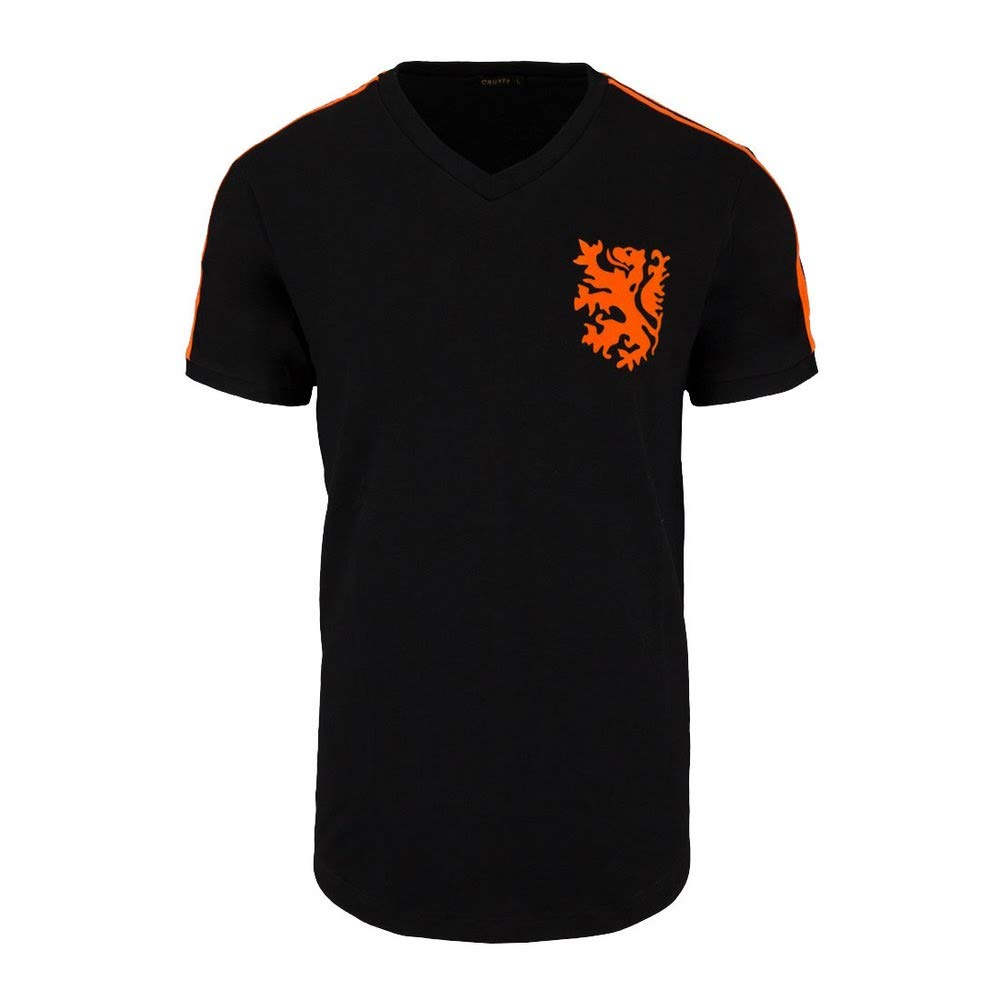 Cruyff Classics 1974 Holland Retro Shirt - schwarz