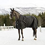 Horze Nevada 1200D Waterproof Turnout Sheet - Black - Size: 78