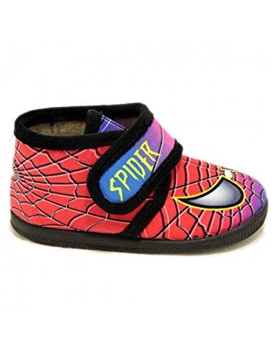 Zapatillas Vulca Bicha de Spiderman Rojo