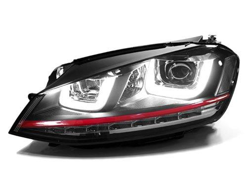 VW MK7 GOLF/GTI HELIX PROJECTOR HEADLIGHTS W/ LED DRL & LED TURN SIGNALS