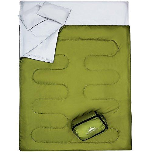 DreamGenius DoubleSleeping Bag for Camping Waterproof Sleeping Bags