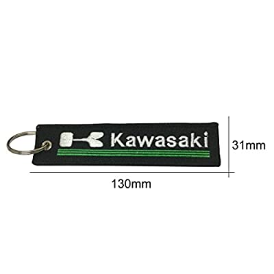 1pcs Tag Keychain for Kawasaki Motorcycles Bike Biker Key Chain Accessories Gifts: Automotive
