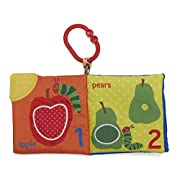 Eric Carle The Very Hungry Caterpillar Lets Count  On the Go Soft Teether Book, 8.5