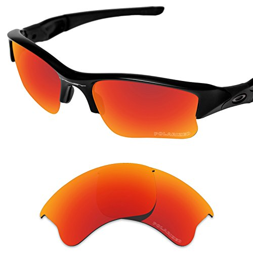 Tintart Performance Replacement Lenses for Oakley Flak Jacket XLJ Polarized - Oakley Xlj Jacket Flak Accessories