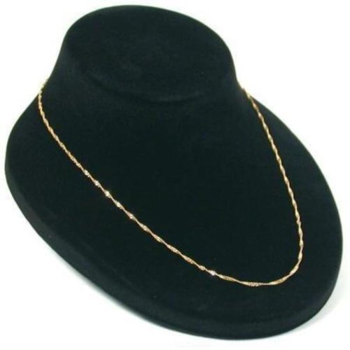 Black Necklace Pendant Jewelry Display Bust Showcase (Jewelry Display Bust compare prices)