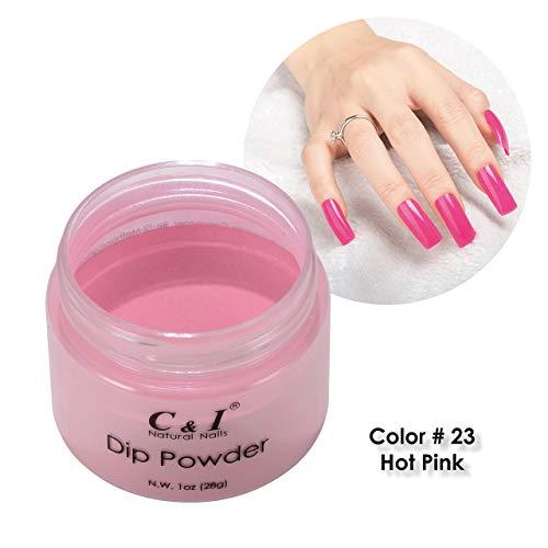 名門幅賛辞C&I Dip Powder ネイルディップパウダー、ネイルカラーパウダー、カラーNo.23