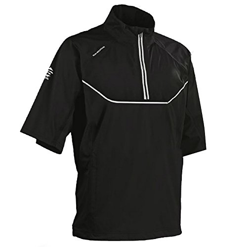 Sun Mountain 2017 Men's Tour Series Short-Sleeve Pullover (Black, XXL) ()