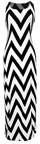Zig Zag Print Dress - 3