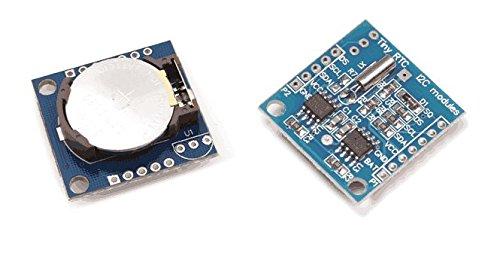 Relogio Tempo Real Rtc Ds1307 Modulo - Arduino + Bateria