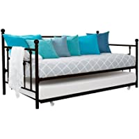 Dorel Home Products Bronze Daybed with Trundle - Great for Children and Guest Rooms