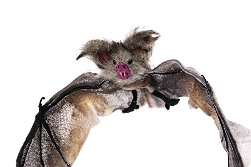 Hanging Vampire Bat Halloween Decoration - Perfect for Haunted Houses, Front Porch Decorations - 9