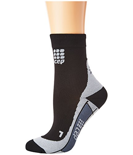 CEP Women's Dynamic+ Run Socks, Black/Grey, III