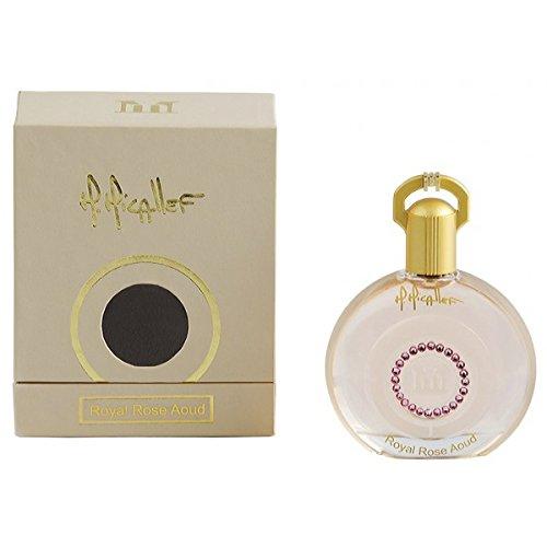M. Micallef Royal Rose Aoud Eau de Parfum Spray, 3.3 Ounce