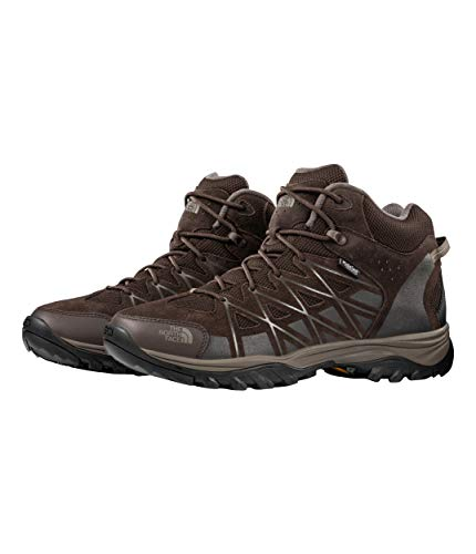 The North Face Storm III Mid Waterproof Hiking Boot - Men's Coffee Brown/Shroom Brown, 8.5 (Waterproof Hat Storm)