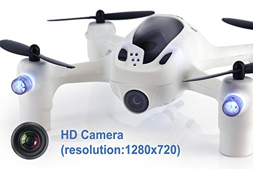 "Hubsan H107D+ FPV X4 Plus RTF Quadcopter with 720p HD Camera, Includes Controller with 4.3"" LCD"