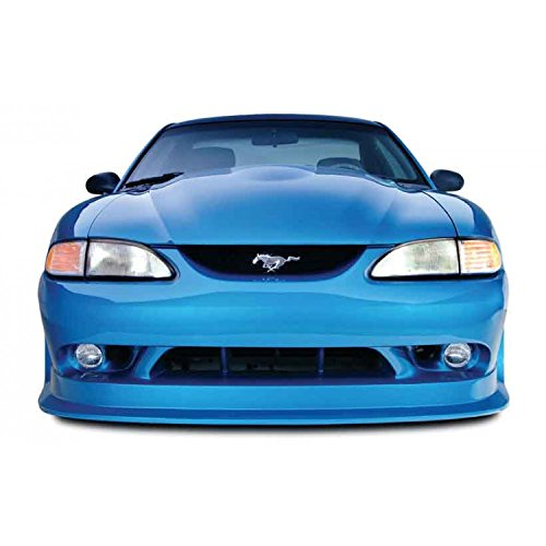 Ford Polyurethane 98 Mustang - KBD Body Kits Compatible with Ford Mustang 1994-1998 Cobra R Style 1 Piece Flexfit Polyurethane Front Bumper. Extremely Durable, Easy Installation, Guaranteed Fitment, Made in the USA!