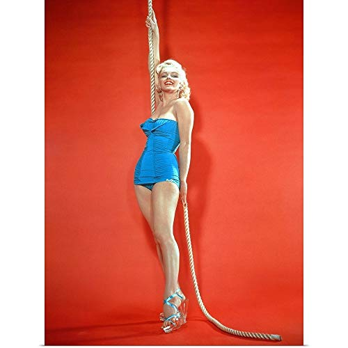GREATBIGCANVAS Poster Print Entitled Marilyn Monroe - Vintage Publicity Photo by 18