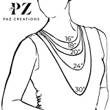PZ Paz Creations 925 Sterling Silver Flower