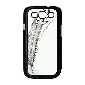 Feather Quote Fly Brand New Cover Case for Samsung Galaxy S3 I9300,diy case cover ygtg615737
