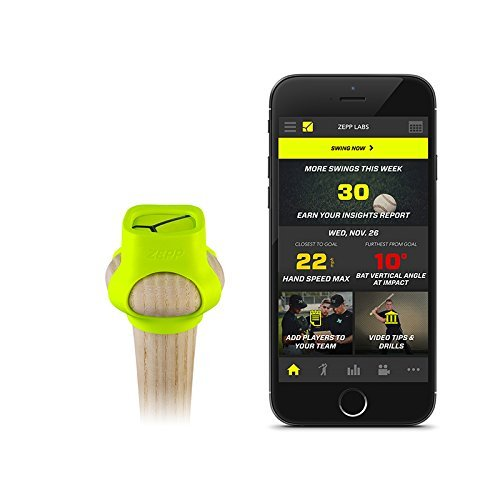 Zepp 3D Baseball Swing Analyzer (Bat Speed Radar)