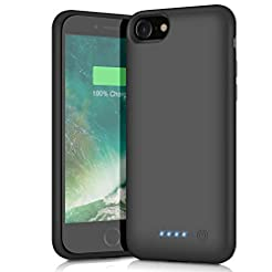 QTshine Battery Case for iPhone 6/6s/7/8...